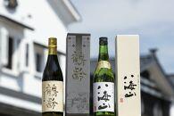 越後の名酒「鶴齢」「八海山」純米大吟醸飲み比べセット(各720ml)