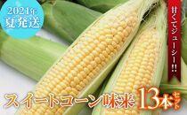 【2021年夏発送!甘くてジューシー!!】スイートコーン味来13本セット