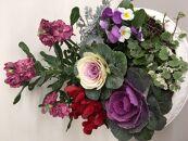 伊川谷町産「花農家による寄せ植え鉢」(約9~10号サイズ)