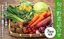 旬の野菜詰合せセット(7種類程度)
