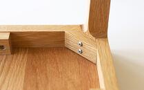 高野木工モル40×40サイドテーブルホワイトオーク