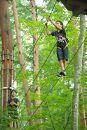 森の空中散歩!フォレストアドベンチャー・糸島 体験チケット(キャノピーコース)