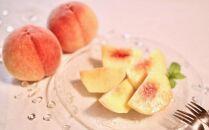 ★7月~8月発送★【特選】<甘い香りと果汁が自慢>桃約4kg(9~12玉前後)