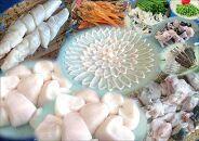 ★白子たっぷり★国産活本ふぐ(トラフグ)堪能コースと干しきぬ貝