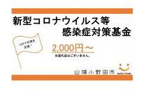 山陽小野田市新型コロナウィルス等感染症対策基金(※返礼品なし)
