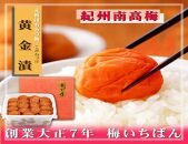 元祖はちみつ入梅干 黄金漬(1.4kg)B-022