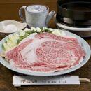 秋田県産黒毛和牛A5リブロースすき焼きセット2~3人前