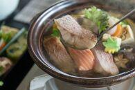ご自宅は温泉旅館フルセット4名様分(福井の海鮮三種鍋)