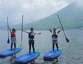 <日本で一番空に近い湖、日光中禅寺湖>SUP体験チケット