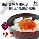 千葉県産のお米「ゆうだい21」5kg