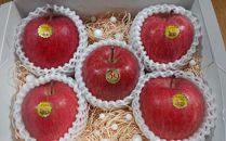 超完熟りんご「弘前産ふじ5個」