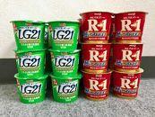明治R-1ヨーグルト12個 LG21ヨーグルト12個