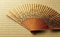 ◆近江扇子 №25052 蜻蛉・瓢箪