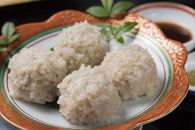 """幻の餅米""""女鶴""""と三元豚を使った手作りしゅうまい<割烹 治郎兵衛>"""