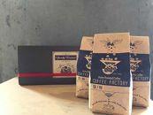 チャンピオンおすすめシングルオリジンコーヒー3種:中煎り~深煎り(豆のまま)
