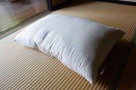(男性用)希少な富山産の綿で作った快眠、肩腰楽・和綿まくら