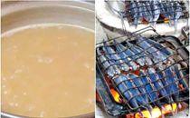 上五島特産の焼あご使用の万能鍋スープ2人前x4パック(ストレートタイプ)