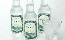 【6本入】摂氏4度の清冽な天然水を使用「ハサイダー」