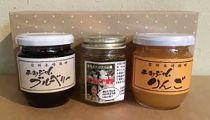 信濃大町「奥原さんのアカシア蜂蜜と北ヤマト園のジャムセット」