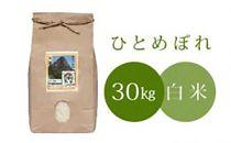 名水流れる曽爾村産:萩原康孝のひとめぼれ  新米30kg(白米)