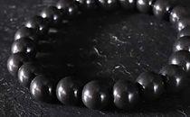【上ノ国でしか採れない奇跡の石】セラシリカブレスレット 8mm玉/Lサイズ