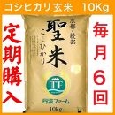 【年間定期便6回コース】京都府産コシヒカリ 玄米10kg