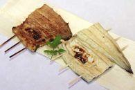 【紅白味わいセット】うなぎの白焼き大サイズ1匹・蒲焼き1串