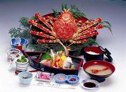 【食事券】特選高足ガニコース(お食事処かにや)