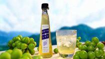 酸味でストレス解消!早摘みブドウ果汁「ピオーネのしずく」