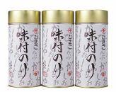 【ポイント交換専用】秘伝の関西風あまから味付け海苔丸缶3本セット