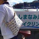 ★しまなみサコッシュ(ホックボタン開閉)[尾道帆布鞄彩工房]