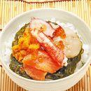 海鮮7種のぶっかけ丼の具
