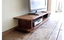 【無垢材のコンパクトテレビ台】miniテレビボード120ウォールナット