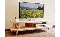 【開放感いっぱいの国産杉テレビ台】HANEテレビボード130国産杉