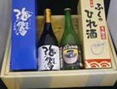 下関地酒とひれ酒セット