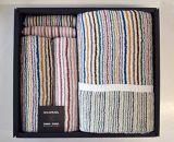 A26-50 小倉織縞縞 タオルセット