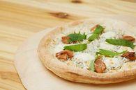 手作り極上冷凍ピザ「福良湾の釜揚げしらすと梅肉PIZZA」3枚セット