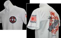 ヘリ搭載護衛艦「いずも」半袖ドライTシャツ(ブラックLサイズ)