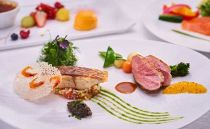 山のホテル フランス料理「ヴェル・ボワ」 【季節のランチコース】ペアランチ券(2名様分)