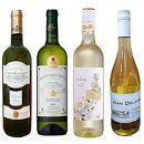 白ワイン4本セット 春【フランス・スペイン産】