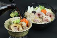 (12,000pt)【限定50セット】たっぷり大容量(5人前×2食分)熊野地鶏ぶつ切り鍋セット