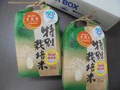 あわら市産華越前特別栽培米4kg(2kg✕2)