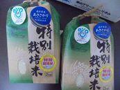 あわら市産あきさかり特別栽培米4kg(2kg×2)