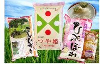 平成29年産米庄内米食べくらべセット計15kg+おまけ