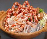 高足ガニ鍋セット(脚500g肩肉800gポン酢と鍋の素スープ)