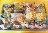 T7017-C手作り精進焼焼菓子詰合せ【御神楽・緑】マクロビ製法【21000pt】