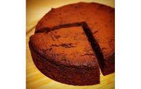 T7020-Cお豆腐の濃厚チョコケーキ【精進ショコラ】4号サイズ(3~4人分)【8000pt】
