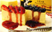 お菓子屋豆畑の濃厚チーズケーキ