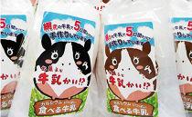 お菓子な牛乳かい!? 2種セット(網走市内加工・製造)