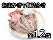 鮮魚丸松自家製干物おまかせ詰合せ ドーンと12袋